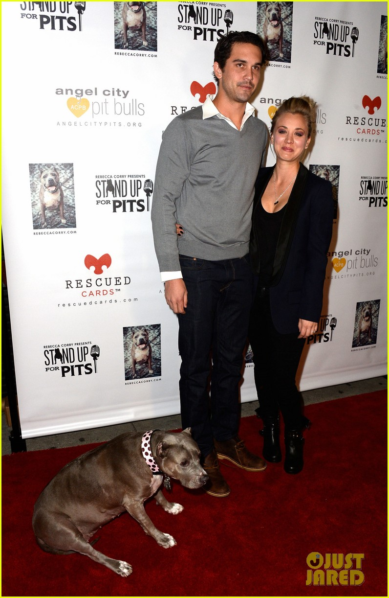 kaley cuoco ryan sweeting stand up for pits 03