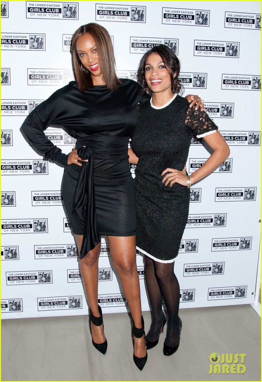 rosario dawson tyra banks lower east side girls club gala 07