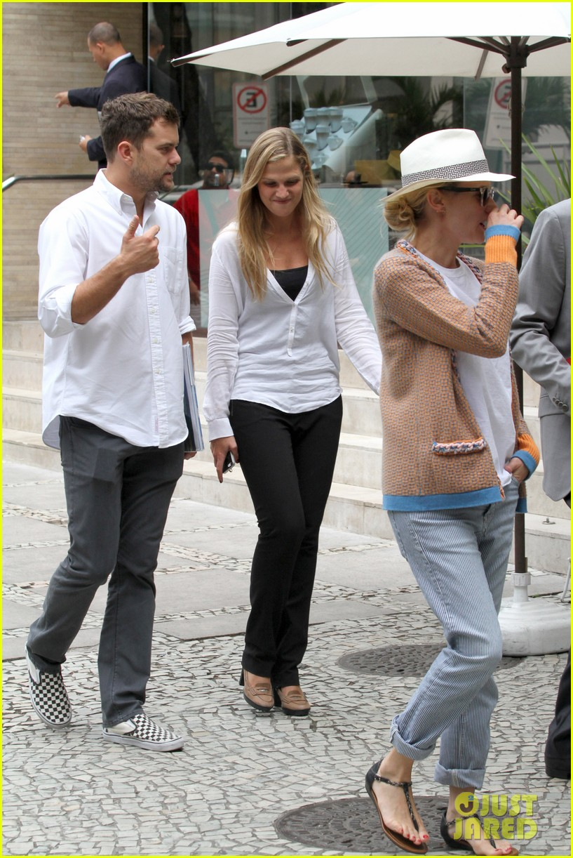 diane kruger joshua jackson lunch with pals in rio 16