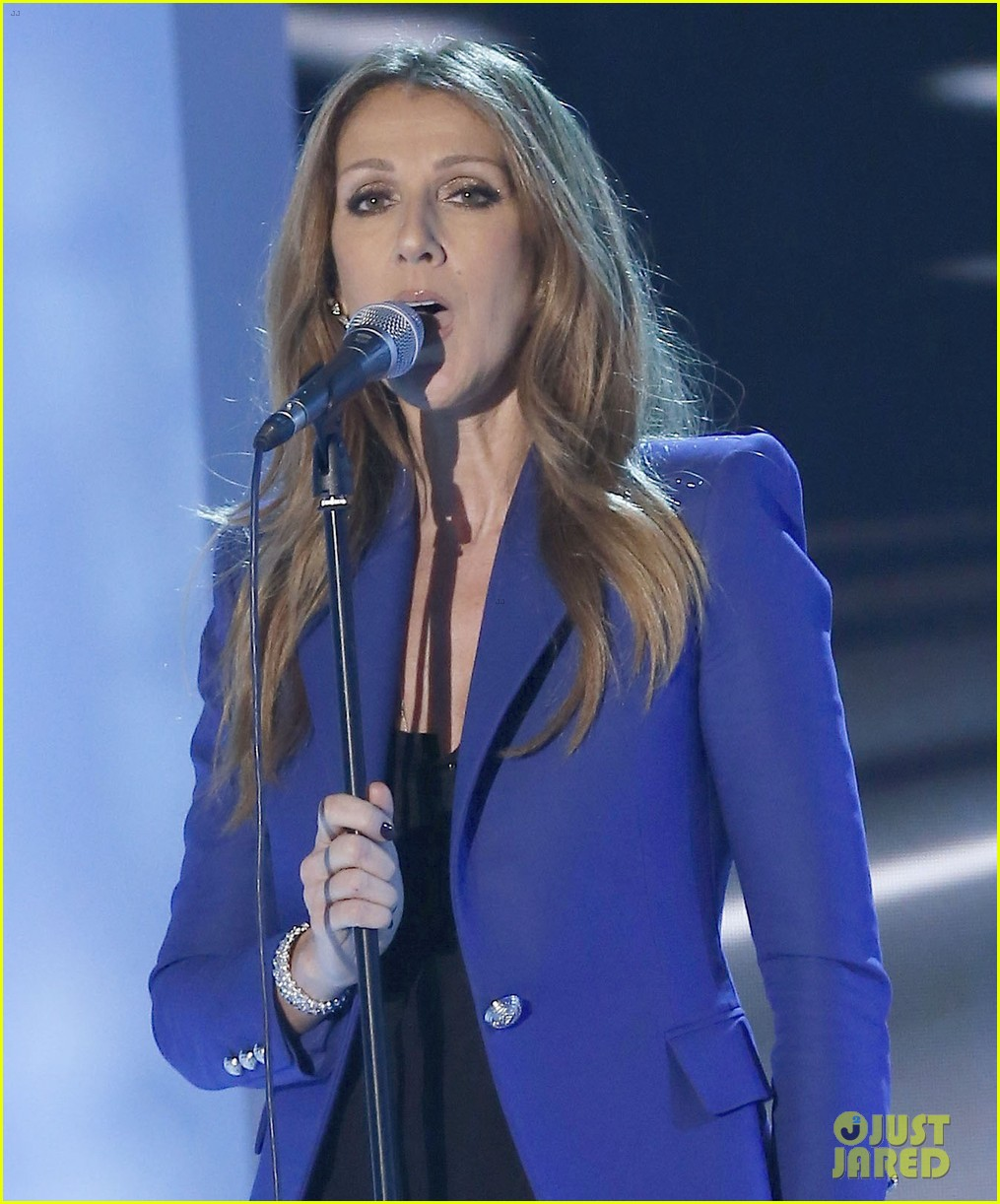 celine dion promotes loved me back to life in france 07