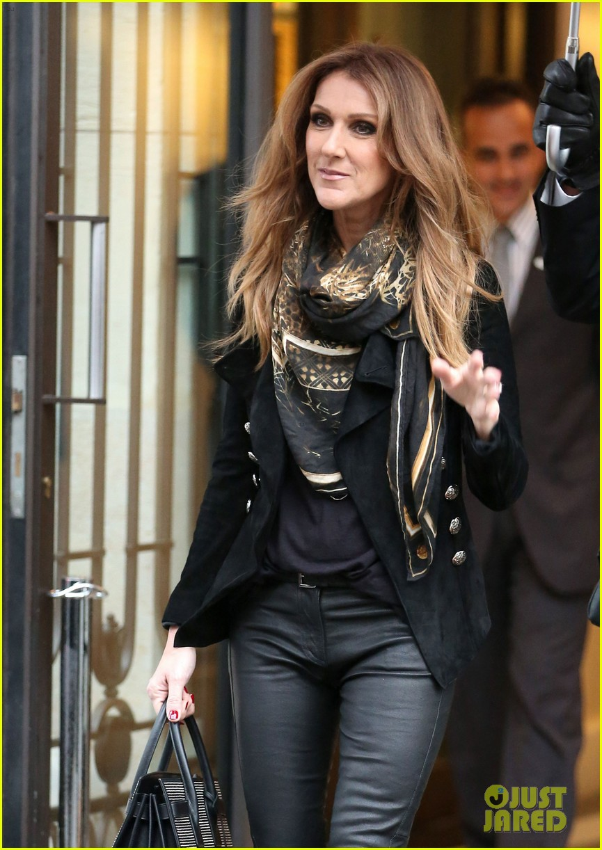 celine dion promotes loved me back to life in france 142992672