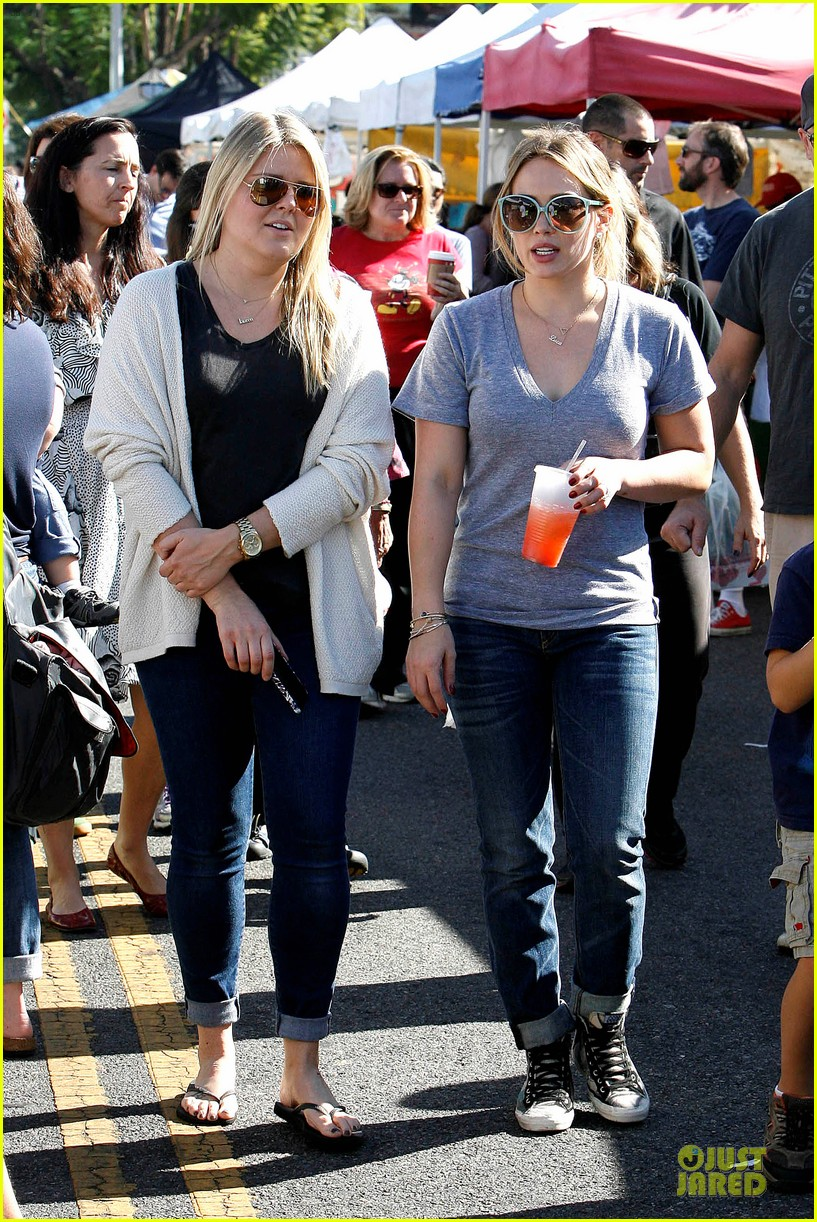 hilary duff monday workout after farmer market fun 262990683