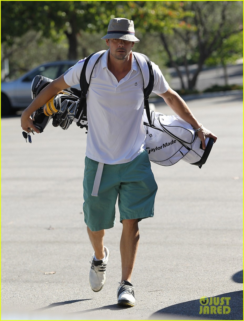 josh duhamel celebrates 41st birthday with round of golf 172993002