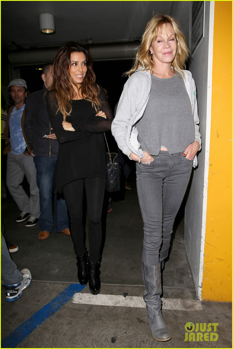eva longoria melanie griffith enjoy girls night out 152985845