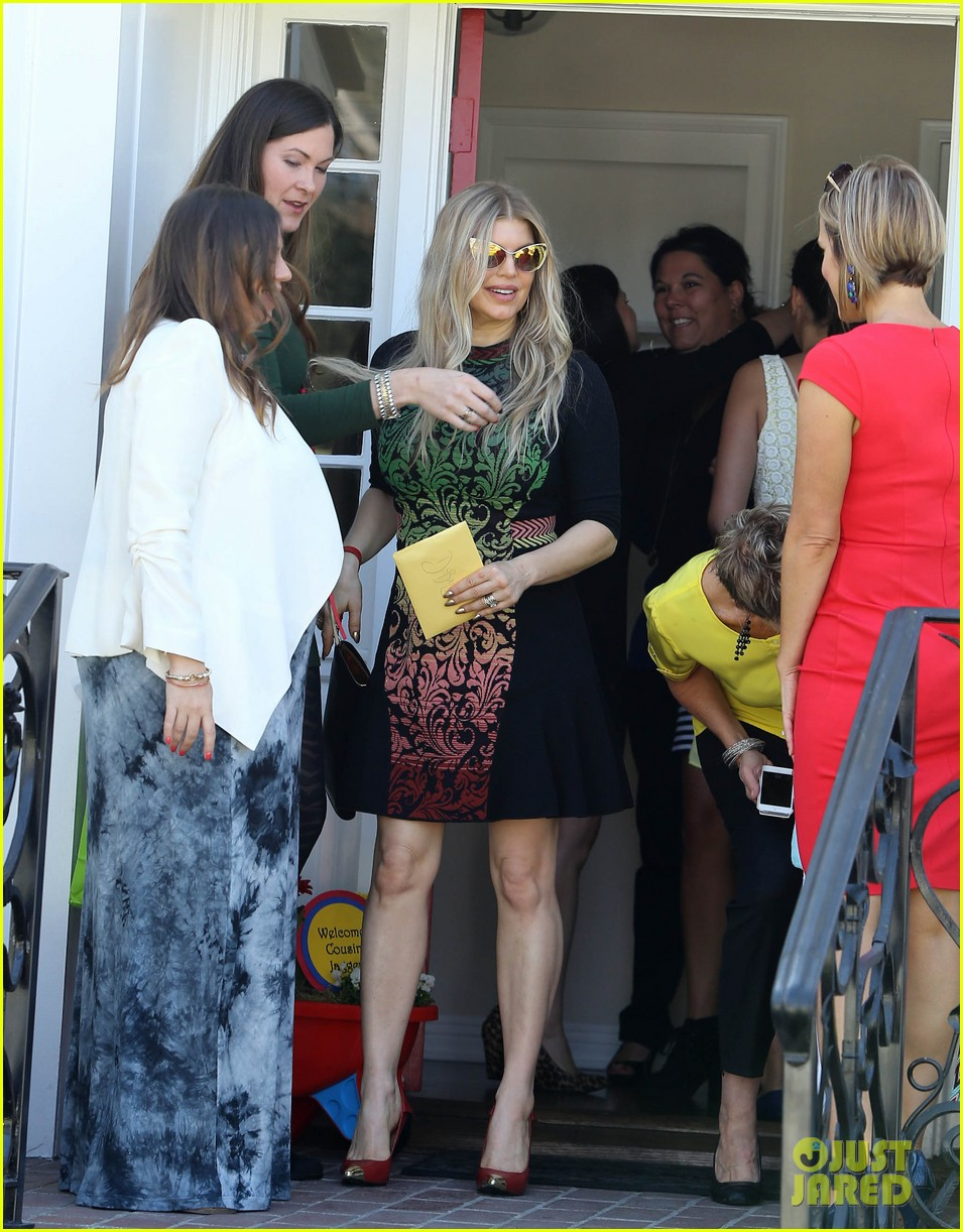 fergie attends baby shower josh duhamel works out 192990474