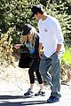 fergie josh duhamel workout pair after halloween 05