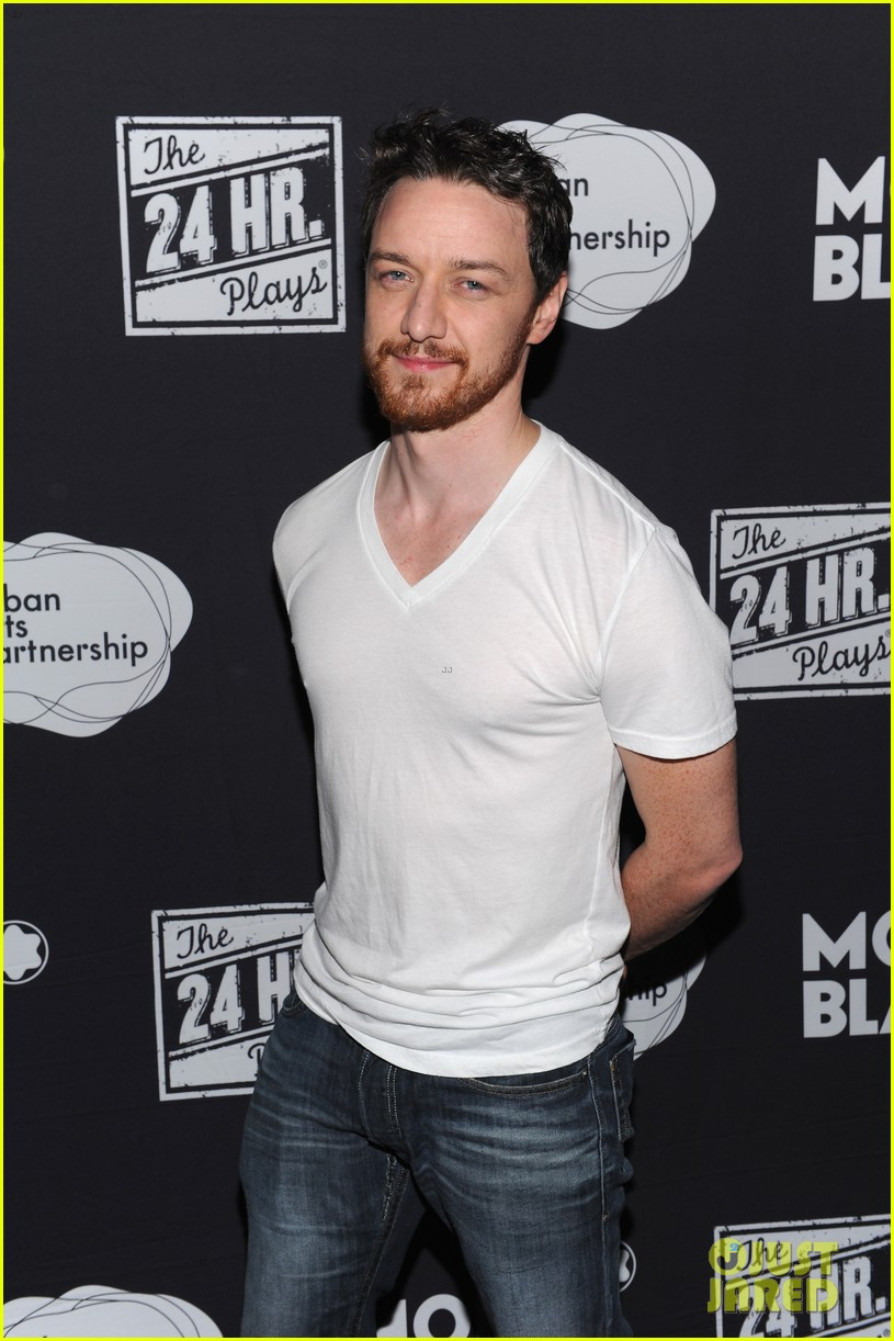jesse tyler ferguson james mcavoy 24 hour plays on broadway after party 01