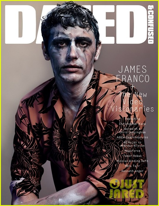 james franco video visionary dazed confused cover 02