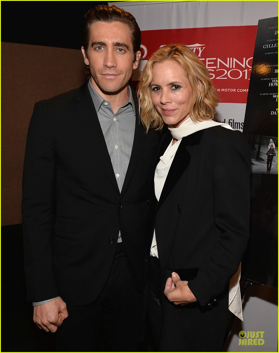 jake gyllenhaal maria bello prisoners variety screening 04
