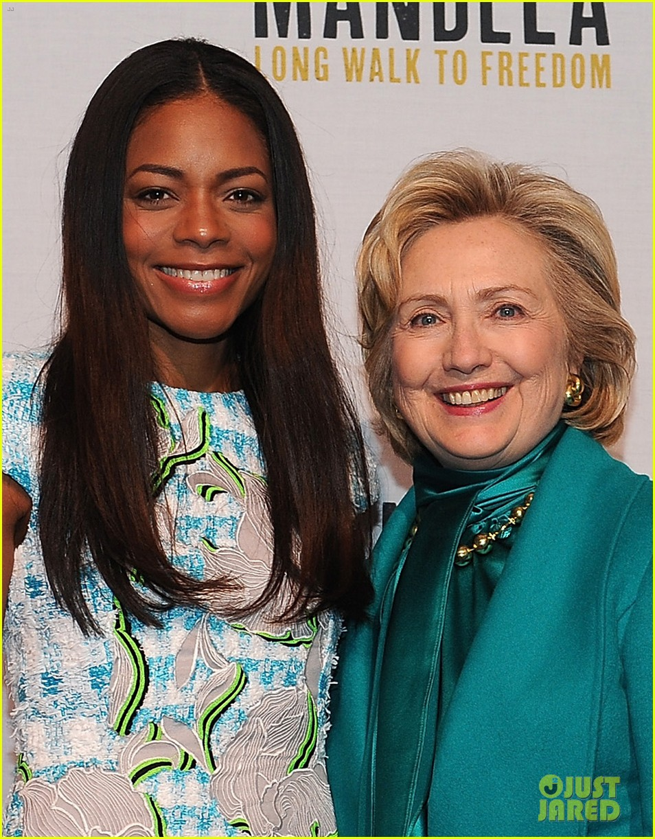 naomie harris mandela dc photo call with hillary clinton 022997125