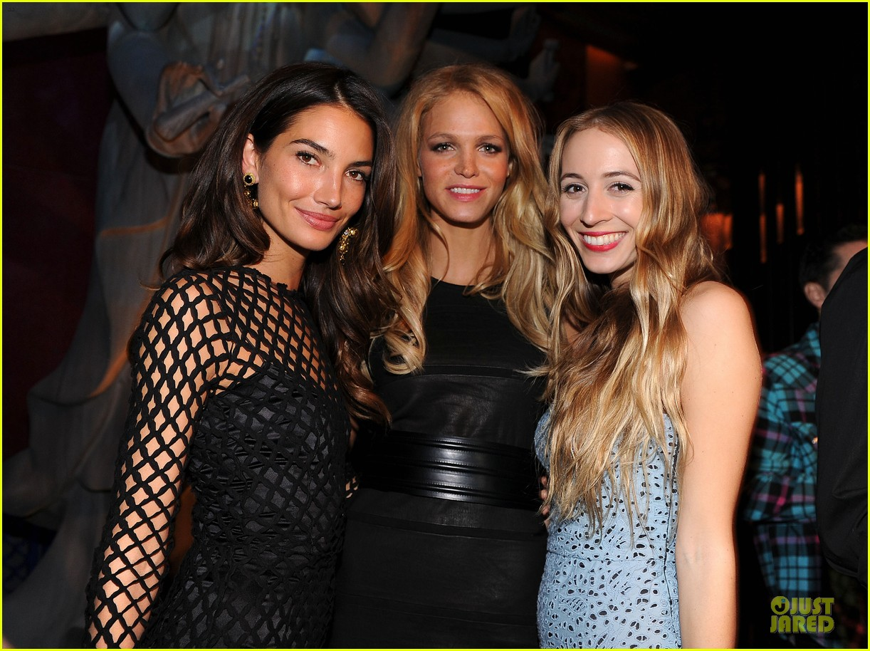 erin heatherton lily aldridge victorias secret fashion show after party 2013 02