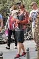 chris hemsworth pregnant elsa pataky spend time with india 10