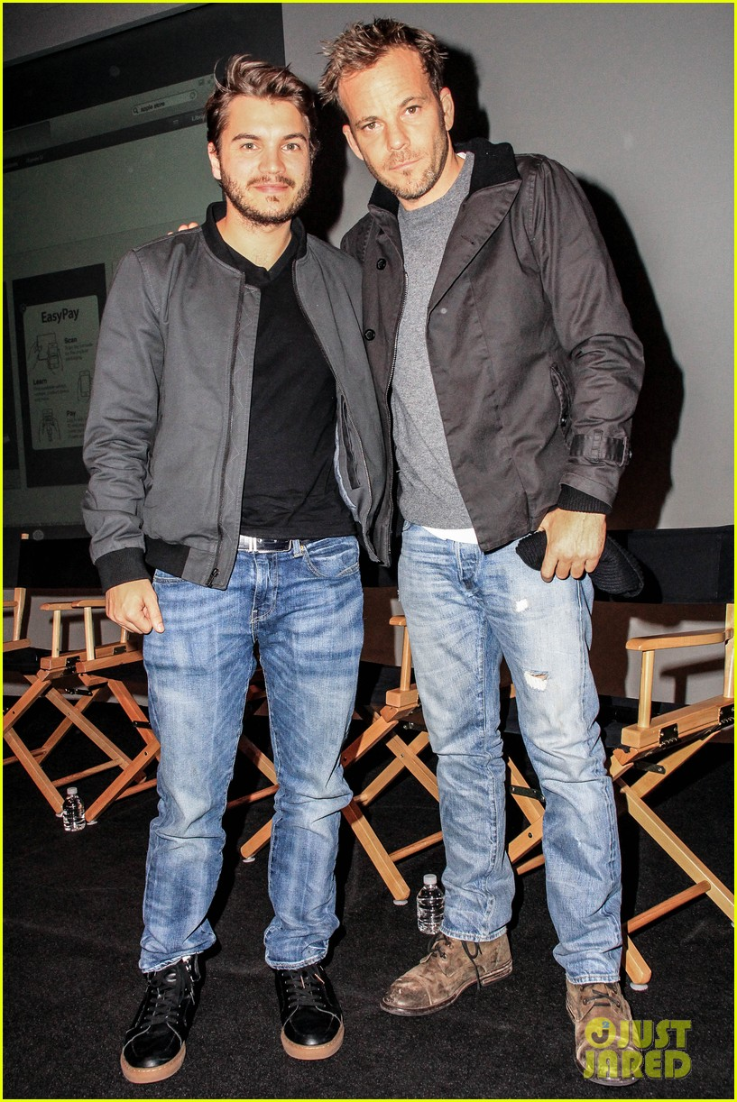 emile hirsch stephen dorff promote motel life in nyc 062987593