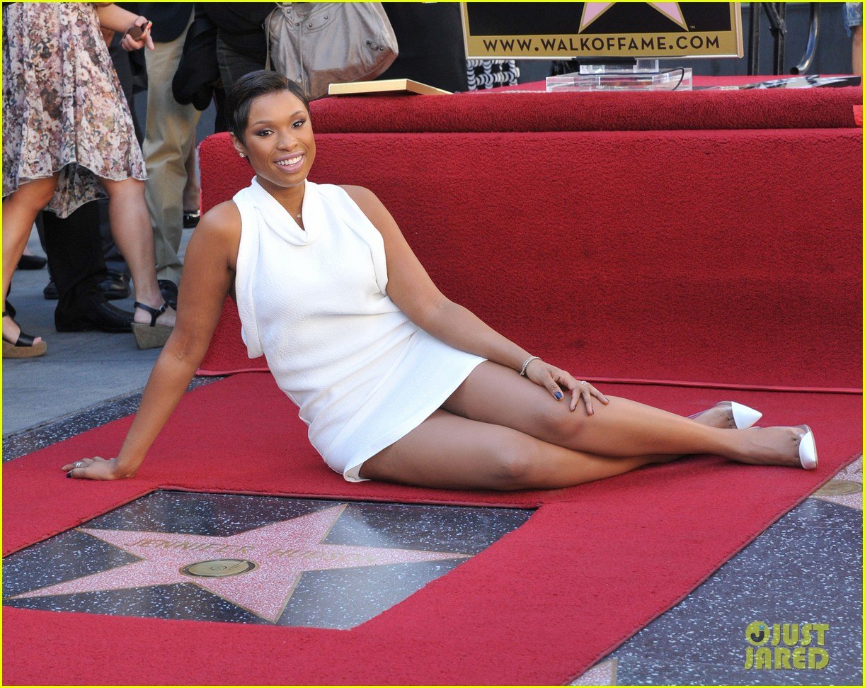 jennifer hudson receives star on hollywood walk of fame 15