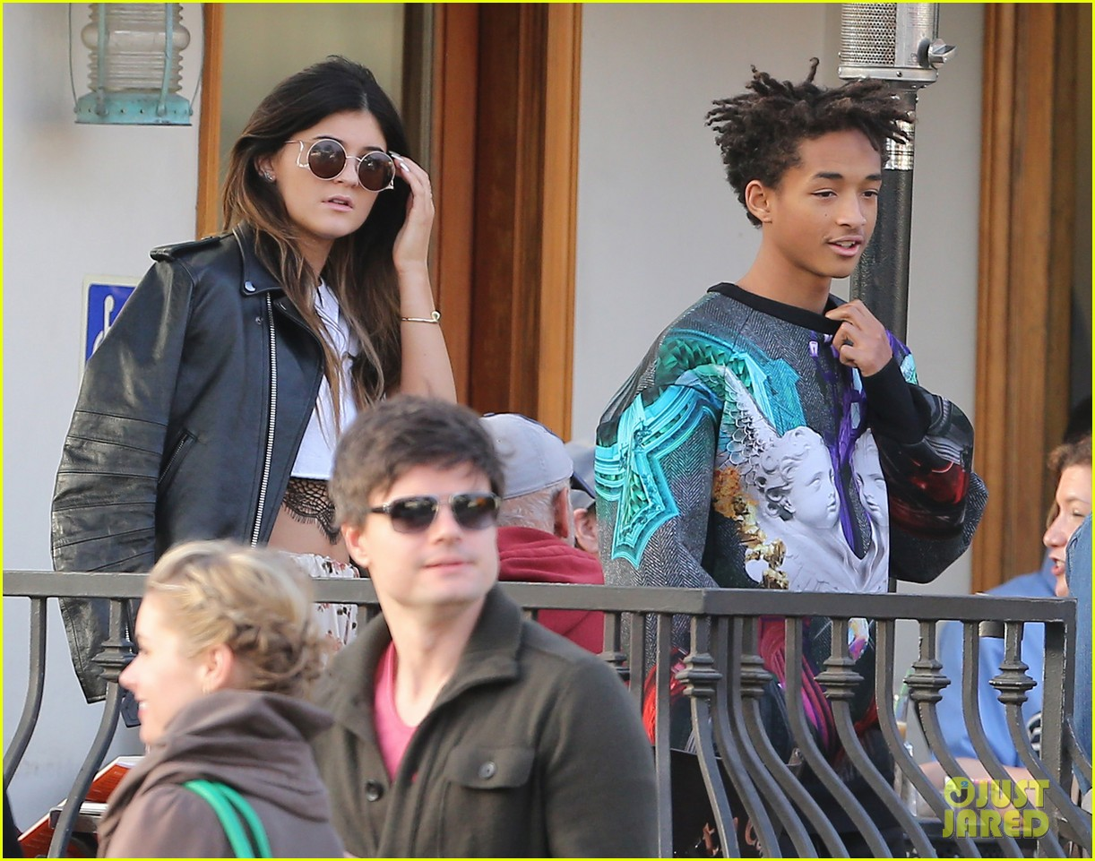 jaden smith kylie jenner shop dine with larger group 172996516