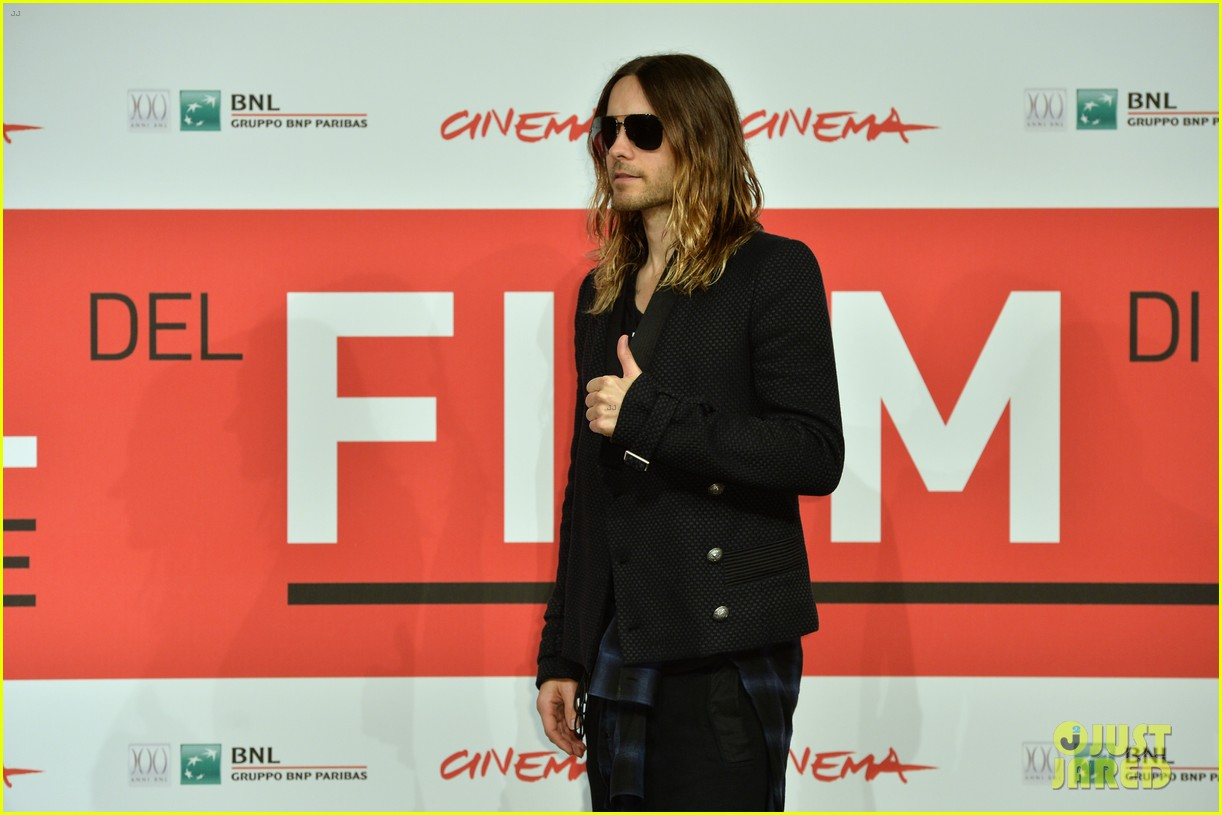 jared leto dallas buyers club rome photo call 062989023