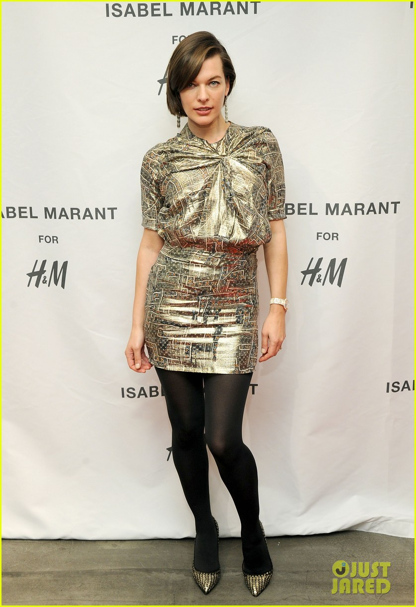 milla jovovich molly sims isabel marant for hm shoppers 17