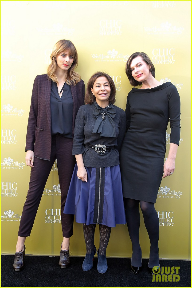 milla jovovich wertheim village 10th anniversary celebration 102990377