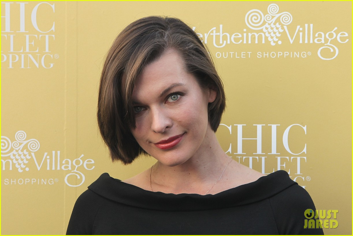 milla jovovich wertheim village 10th anniversary celebration 20