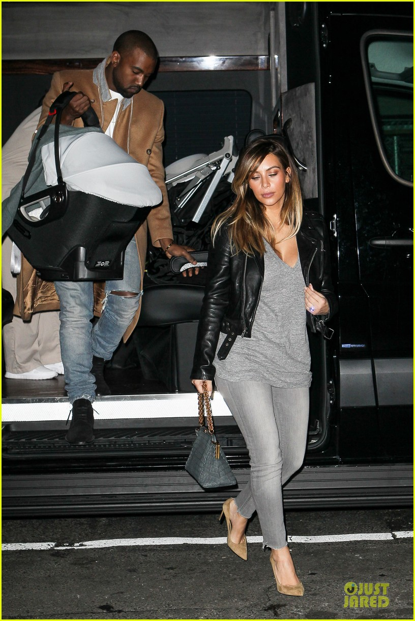kim kardashian kanye west friday dinner date with north 132998266