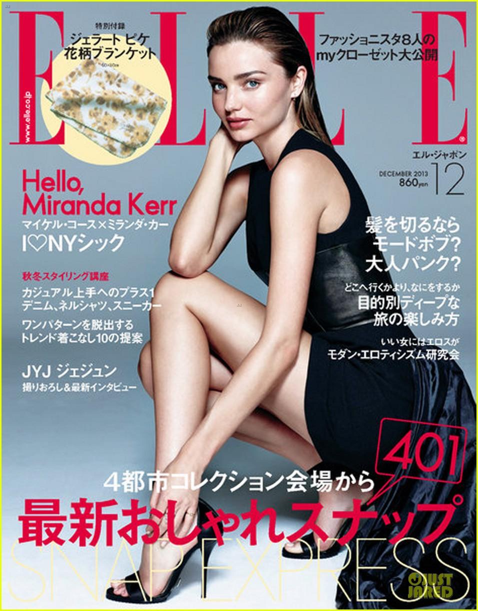 miranda kerr drops it low for elle japan december 2013 052987342
