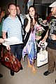 lana del rey receives flowers at lax airport 10