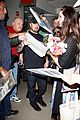 lana del rey receives flowers at lax airport 12