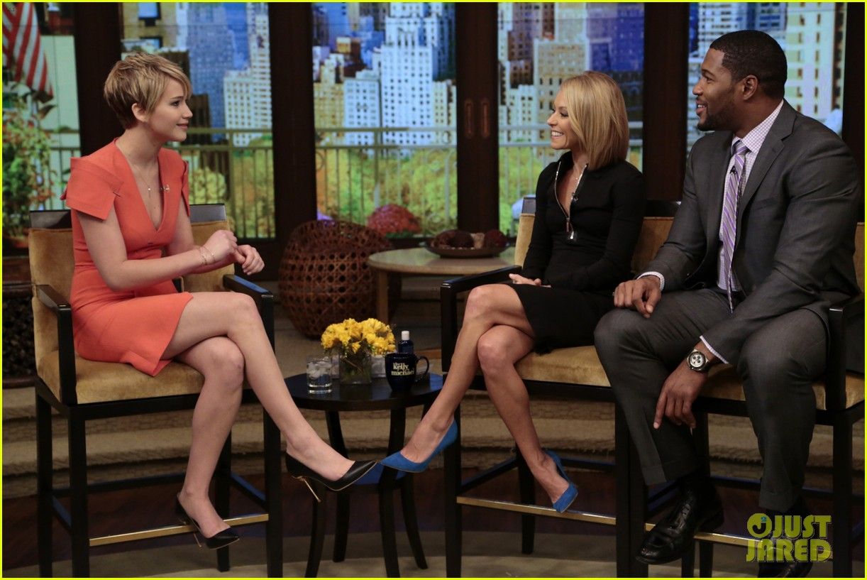 jennifer lawrence live with kelly michael 032997512