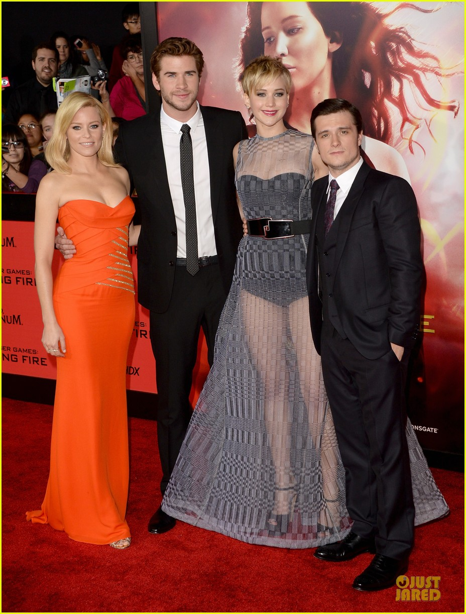 jennifer lawrence catching fire la premiere 082995705