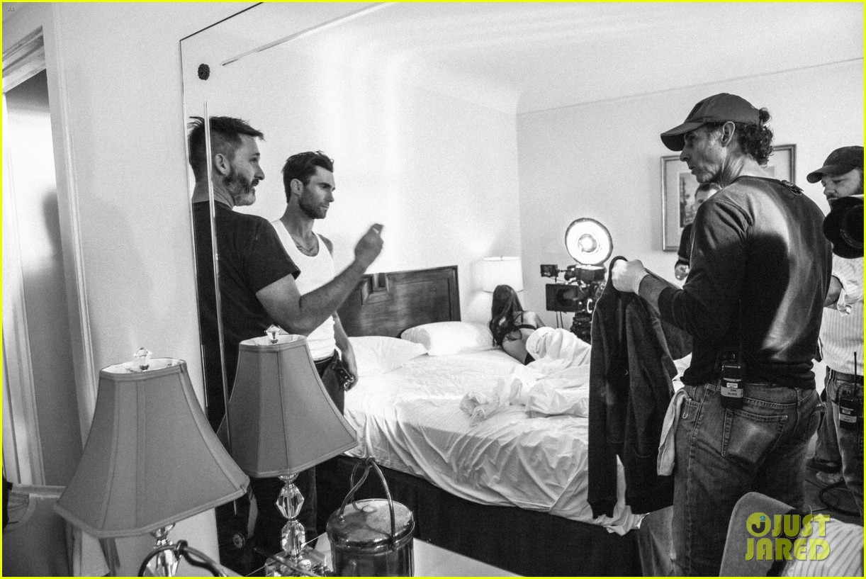 adam levine kmart commercial behind the scenes 06