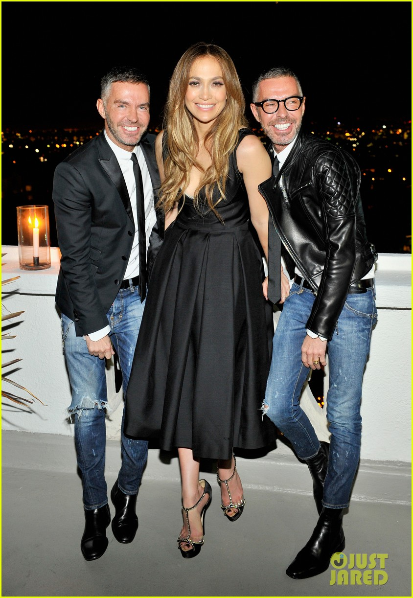 jennifer lopez dsquared2 dinner following the amas 2013 042999880