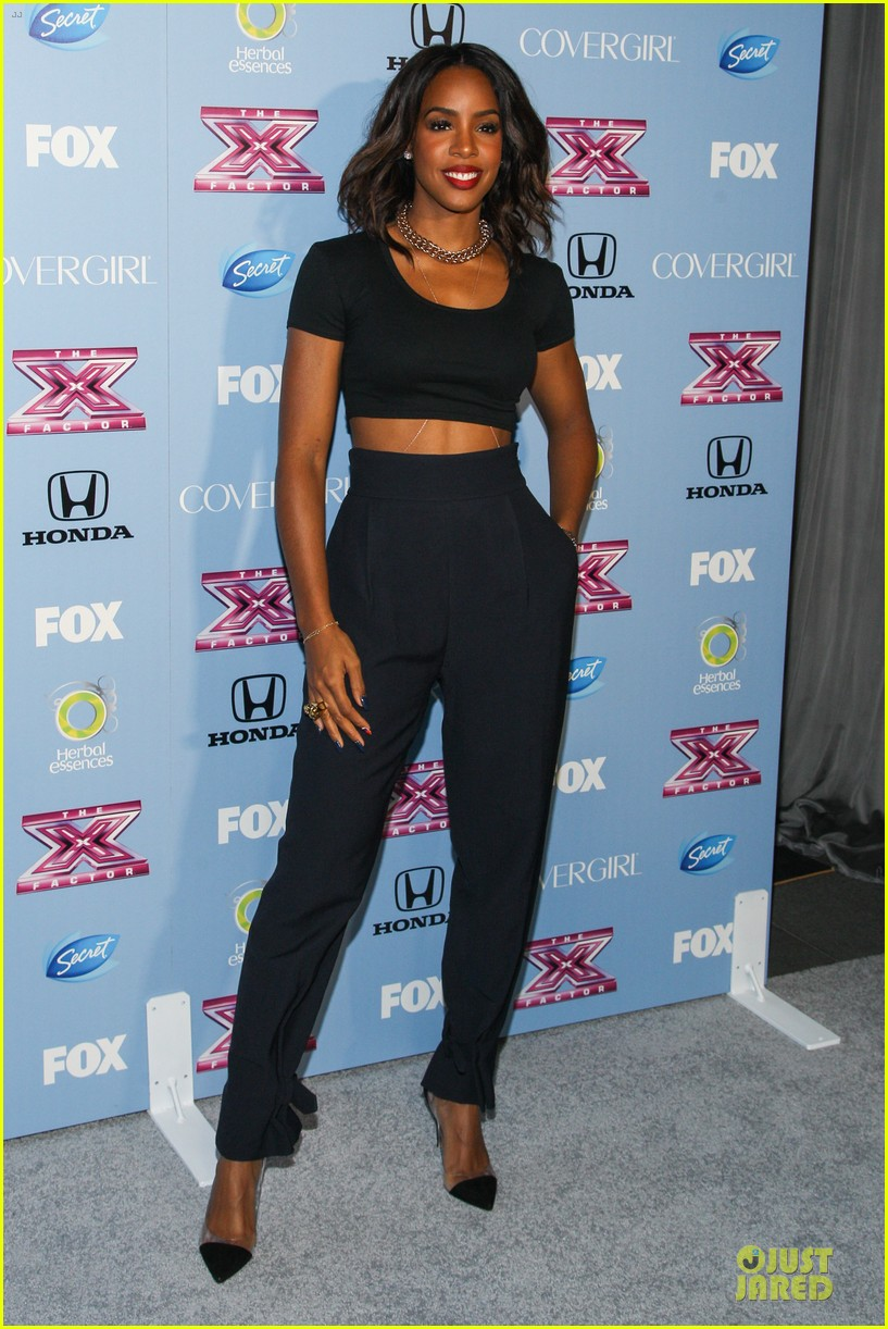 demi lovato kelly rowland x factor finalists party 03