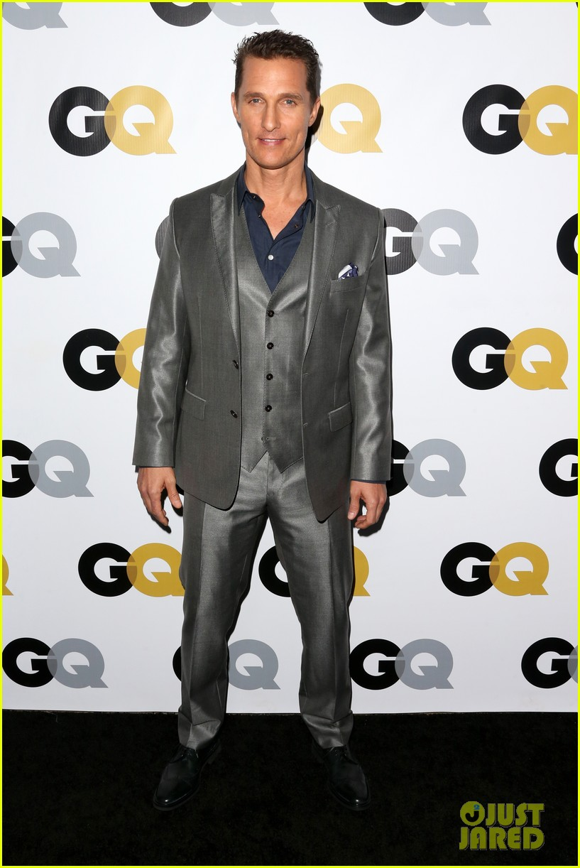 matthew mcconaughey gq men of the year party 01