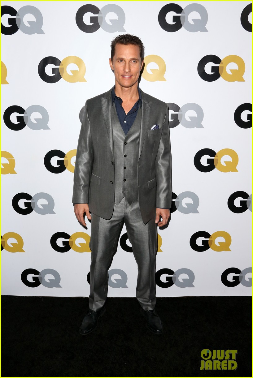 matthew mcconaughey gq men of the year party 09