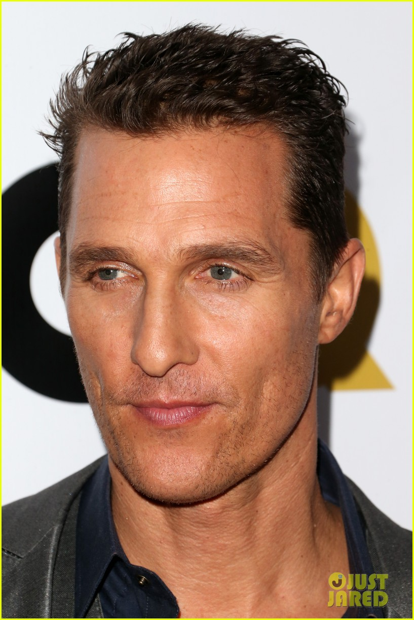matthew mcconaughey gq men of the year party 17