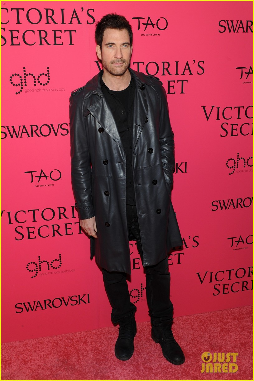 dylan mcdermott jamie chung victorias secret fashion show after party 2013 09
