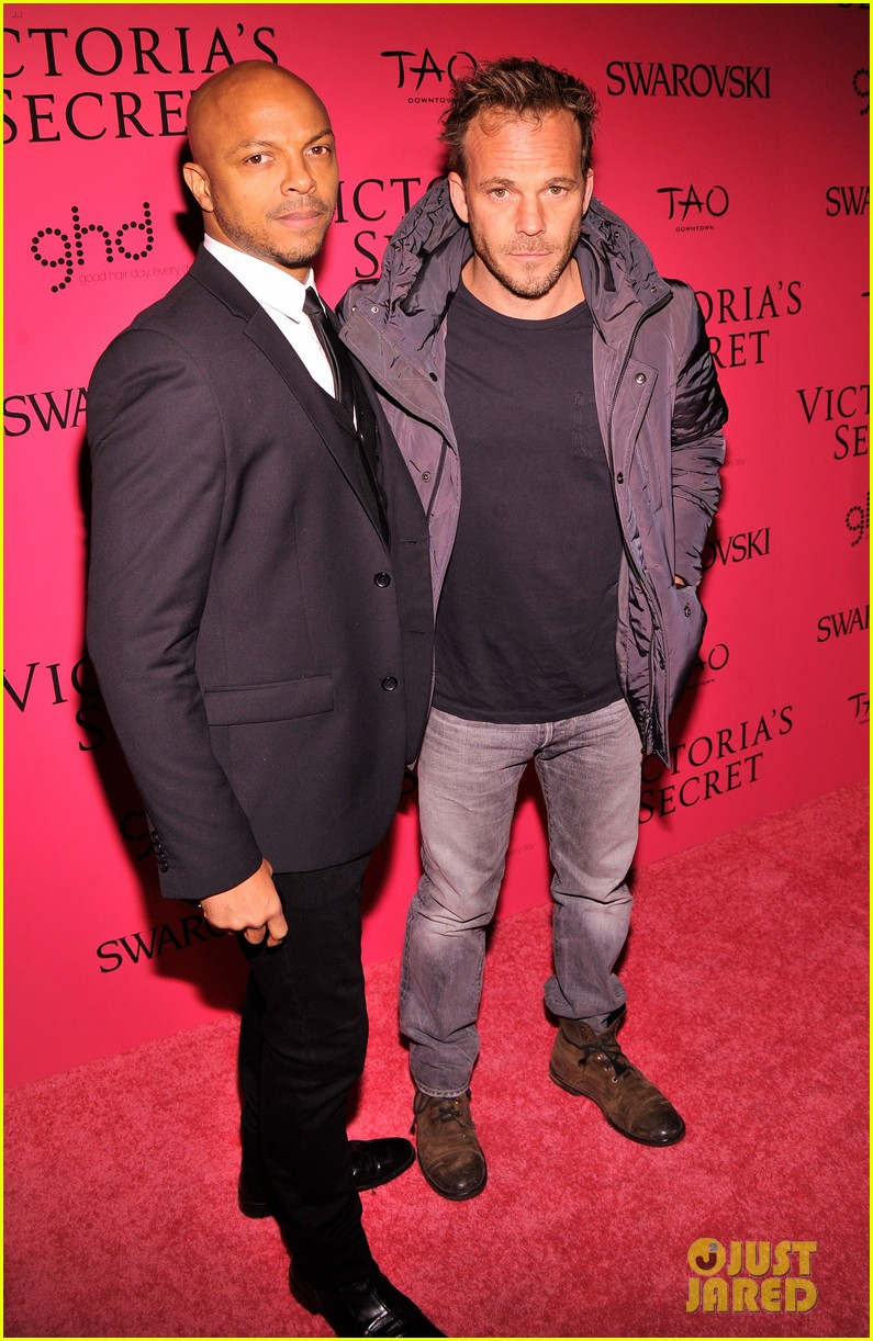dylan mcdermott jamie chung victorias secret fashion show after party 2013 20