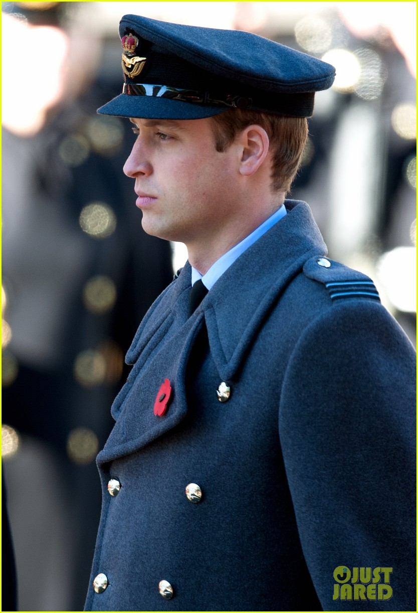 kate middleton prince william remembrance sunday sevice 05