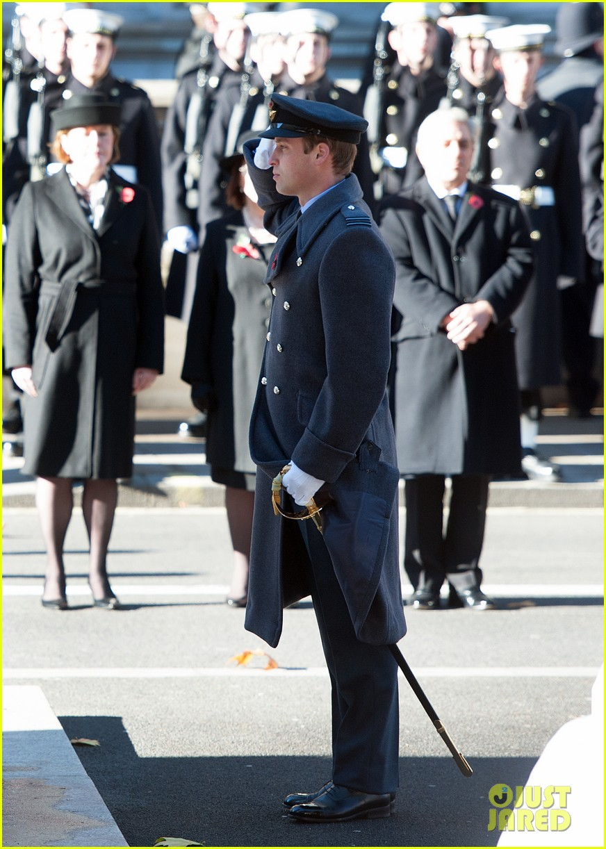 kate middleton prince william remembrance sunday sevice 21