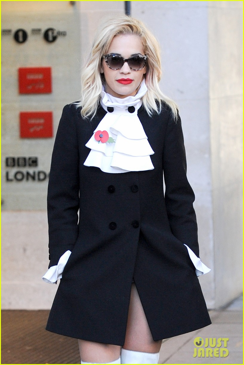rita ora wakes up bright early to co host radio show 022986027