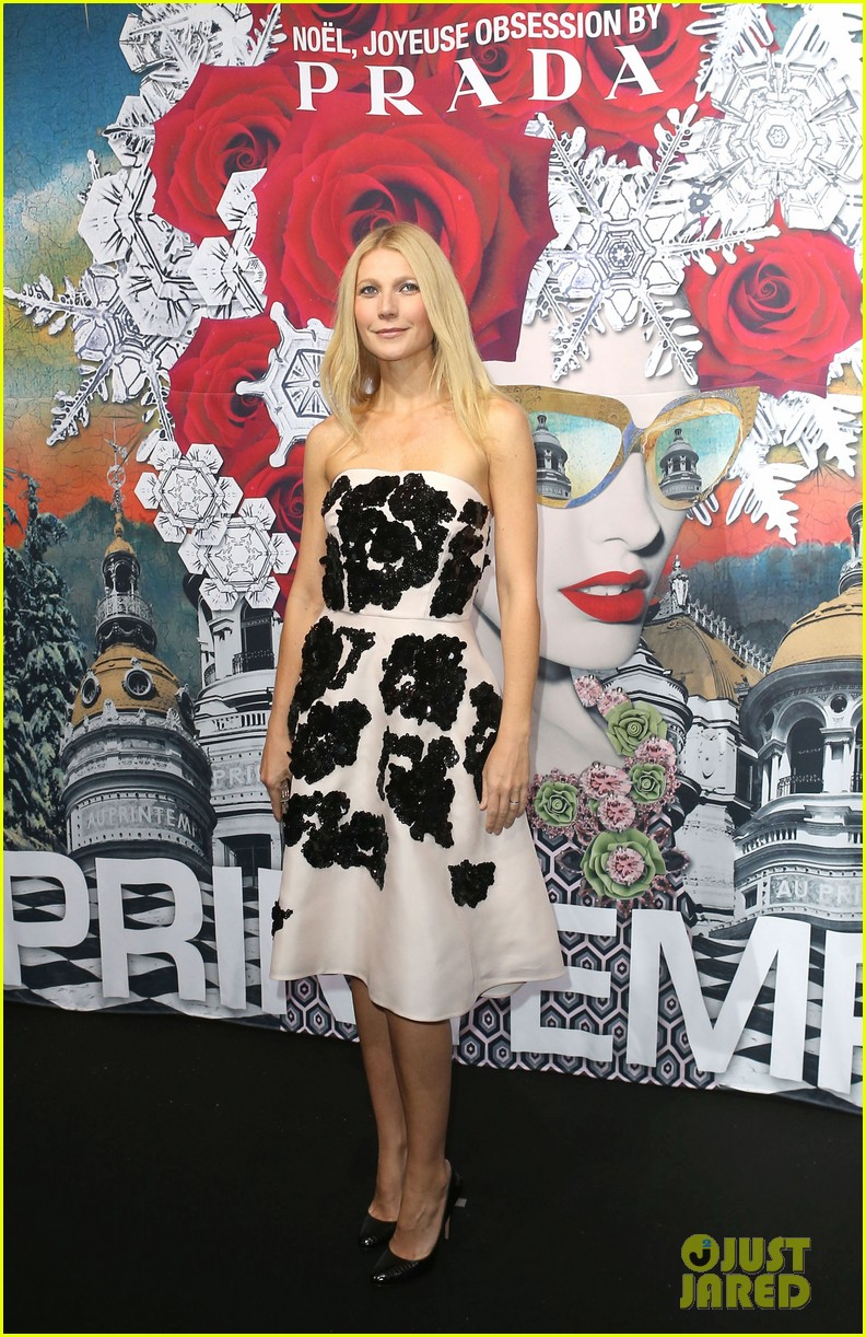 gwyneth paltrow printemps christmas decorations inauguration 12