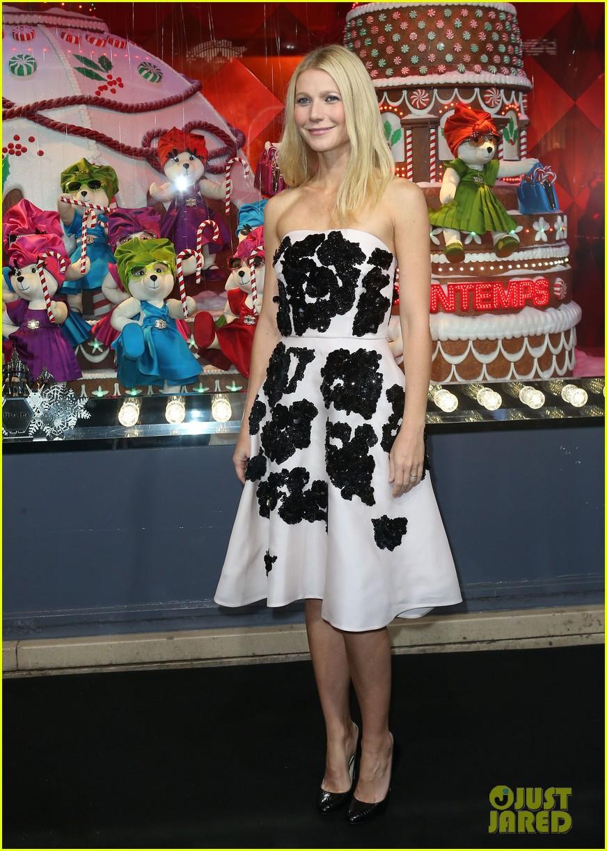 gwyneth paltrow printemps christmas decorations inauguration 16