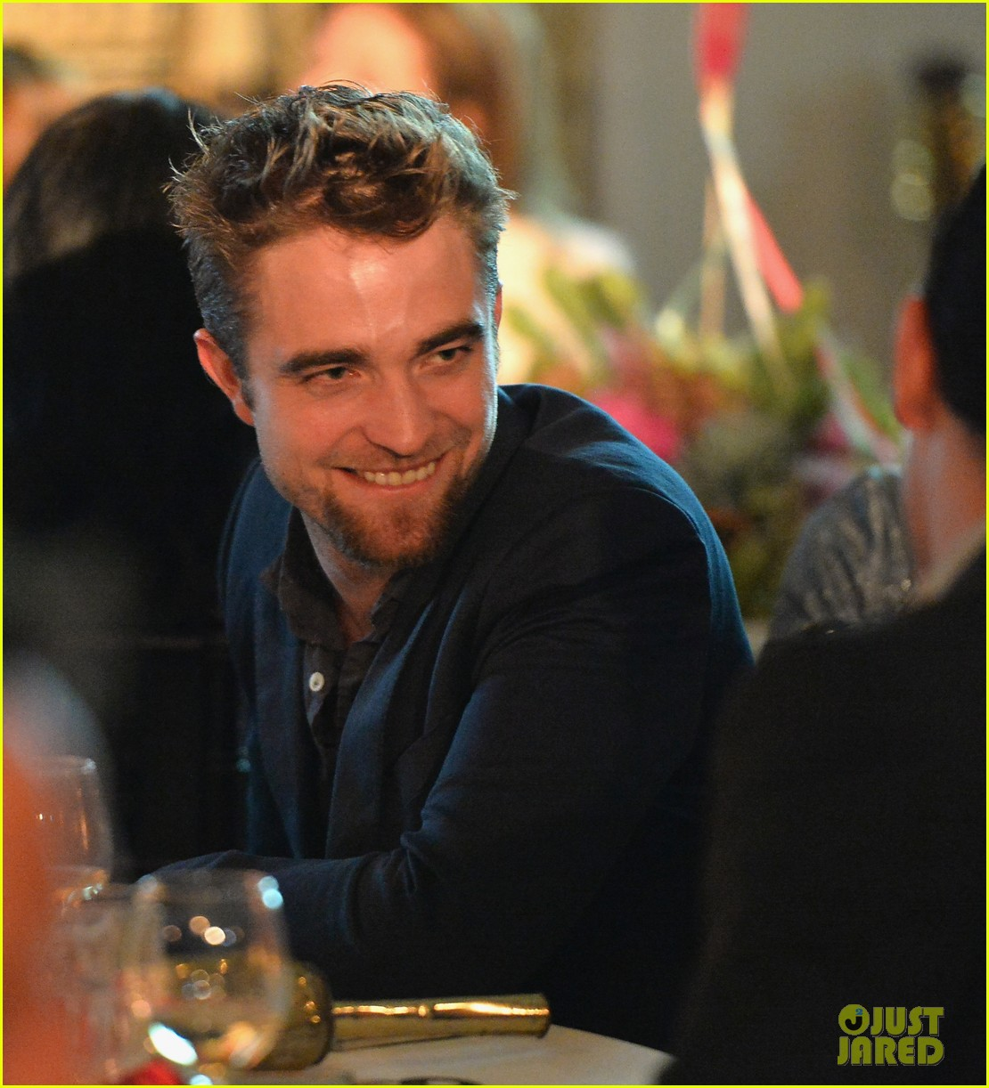 robert pattinson shows off new goatee at go go gala 052993269