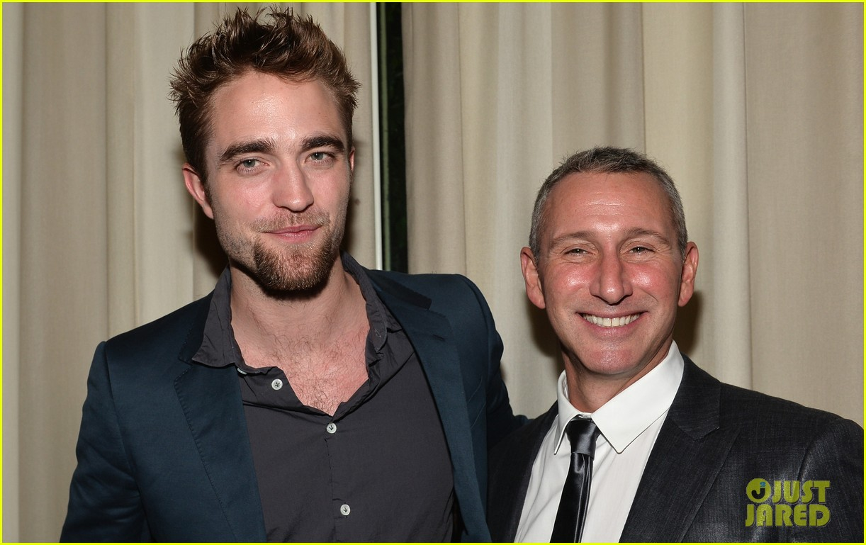 robert pattinson shows off new goatee at go go gala 132993277