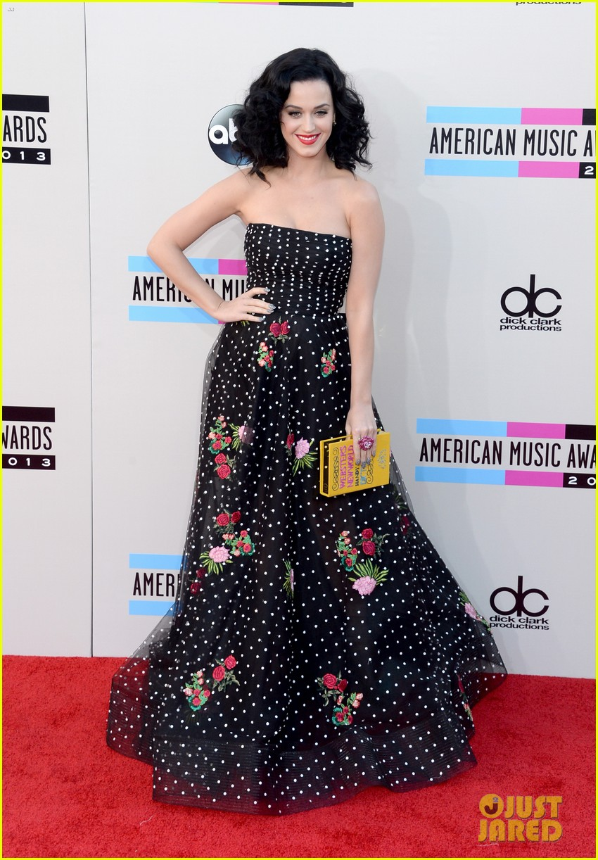 katy perry amas 2013 red carpet 19