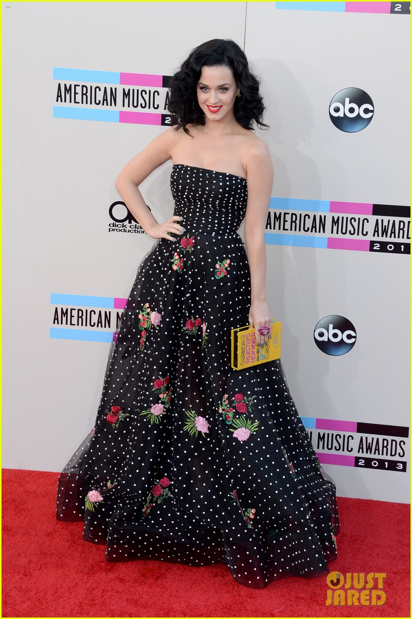 katy perry amas 2013 red carpet 25