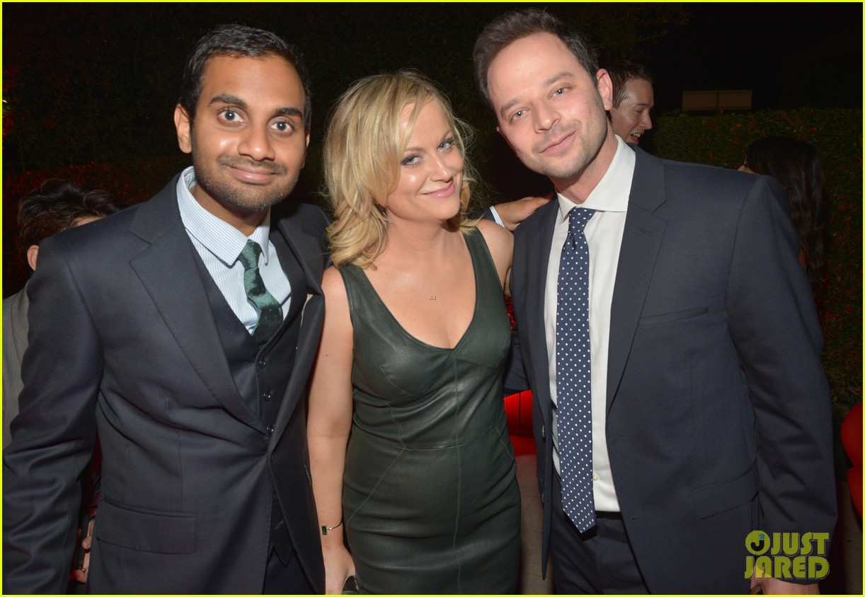 amy poehler nick kroll gq men of the year party 02