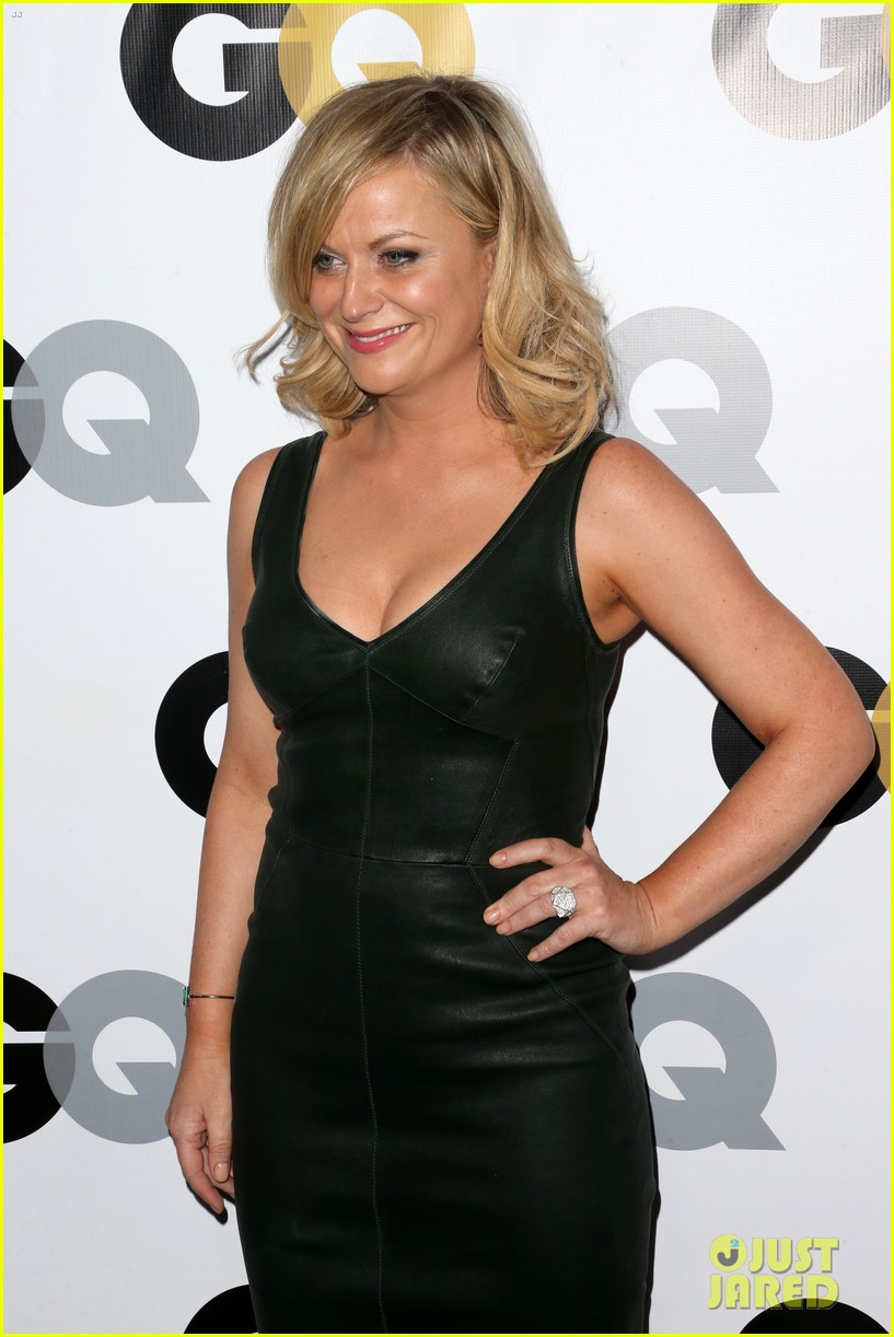 amy poehler nick kroll gq men of the year party 21