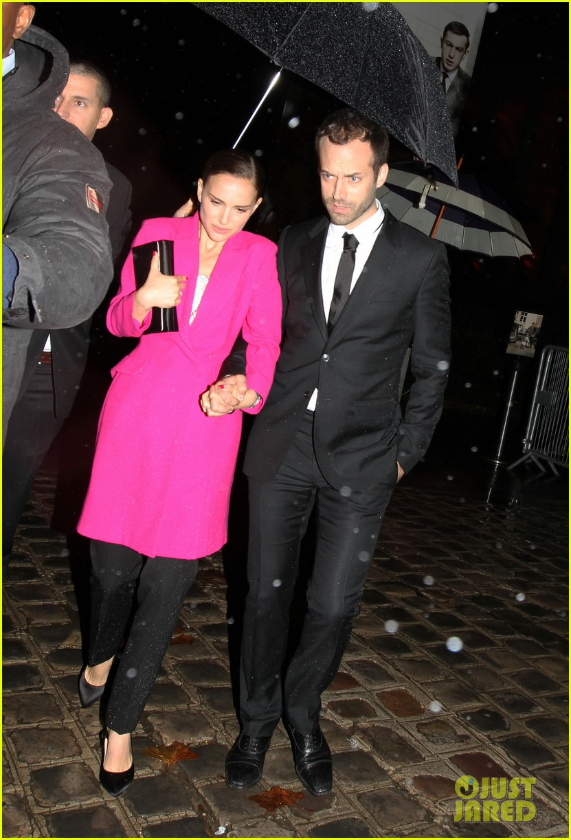 natalie portman miss dior exhibition with benjamin millepied 032991647