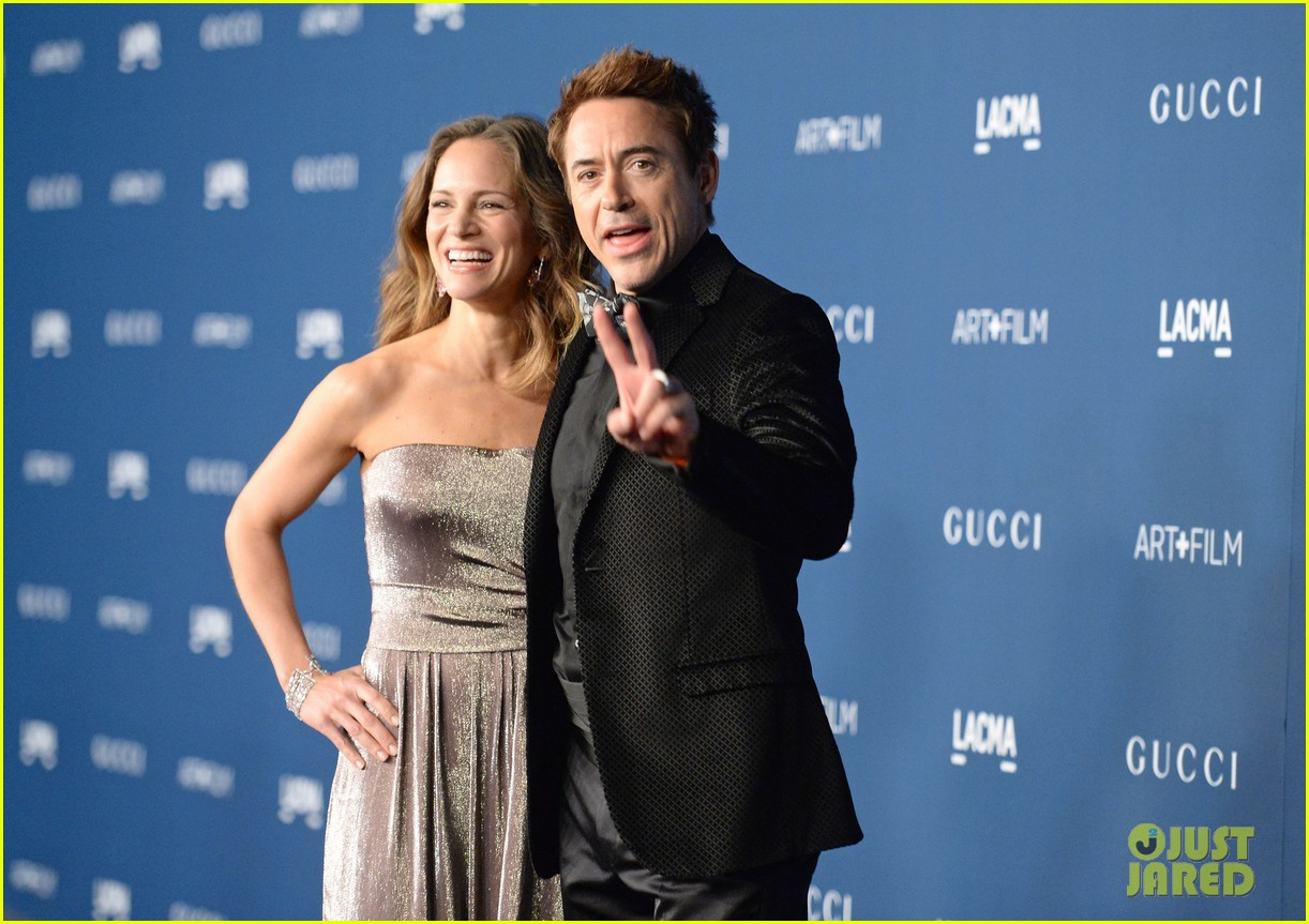 rdj will ferrell lacma art film gala 01
